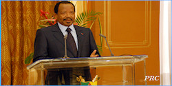 Le traditionnel discours de fin d'ann�e 2009 de Paul Biya