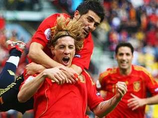 Fernando Torres après son but