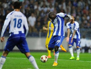 Aboubakar a inscrit son premier but en C1