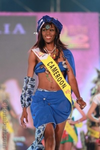Marie Cécile Olga Essouma, finaliste à miss Tourism Queen of the year