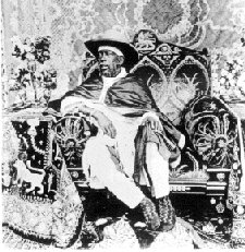L'empereur Menelik II